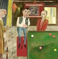Snooker Players by Simon  Quadrat